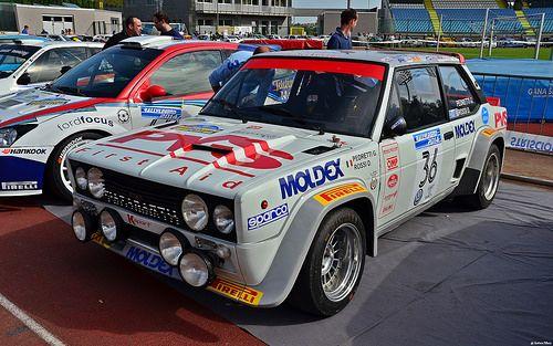 Fiat 131 Abarth Rally Giulio Pedretti Ita Davide Rossi Ita