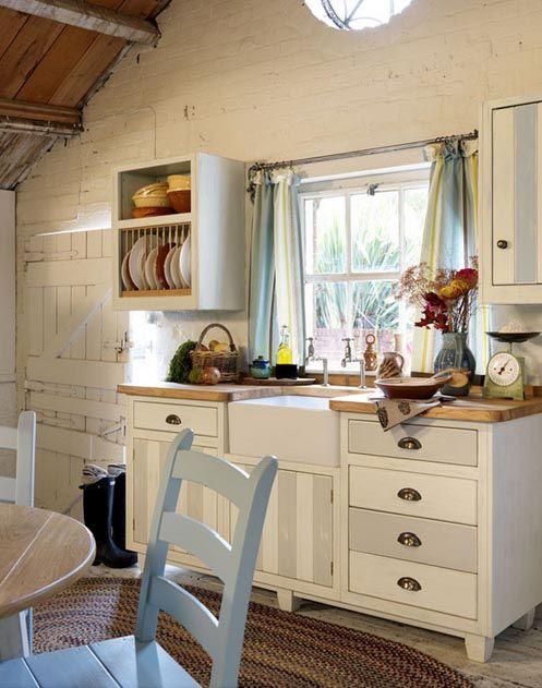 Warm Freestanding Rustic Kitchen Kuchen Rustikal Kuchendesign Landhauskuche