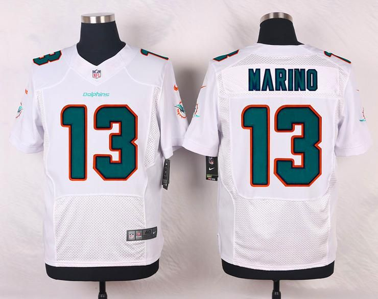 buy online 383f6 9bf14 Men 13 Dan Marino Jersey Football Miami Dolphins Jersey ...