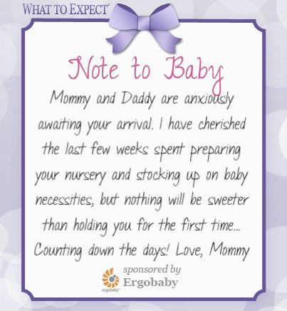 Anxiously Awaiting Your Arrival Mommy Motivation Pinterest