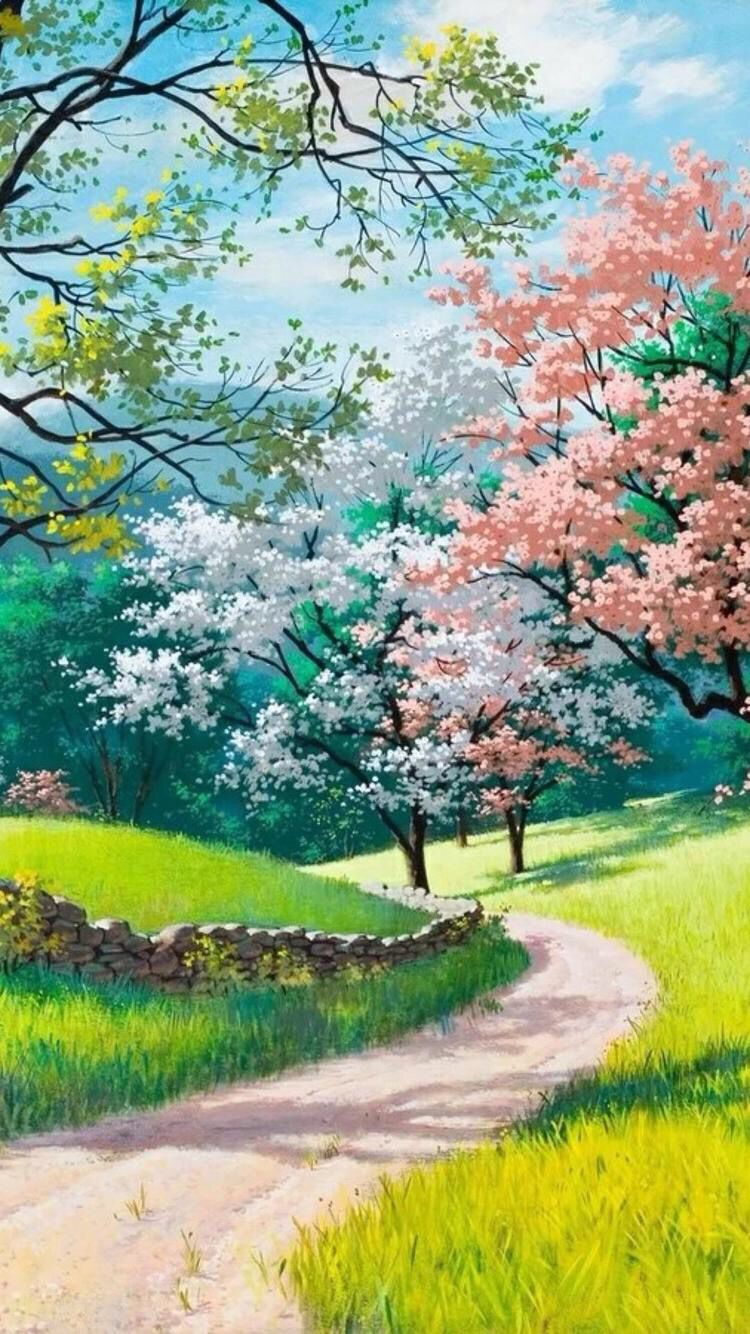 Pin By Chase Zoom On Anime Anime Scenery Landscape Wallpaper Landscape Paintings