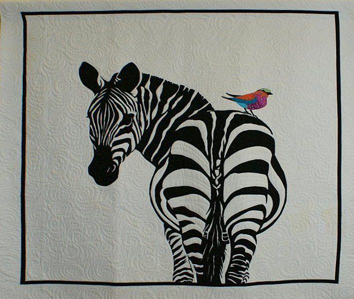 Quilt Show 2012 Pictoral Quilts 609a Modern Quilts African Quilts Zebra Quilt Patterns