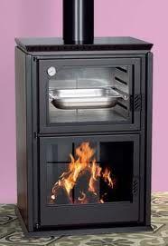 Estufa de le a con horno bandeja y horno fabricado en - Horno bandeja extraible ...
