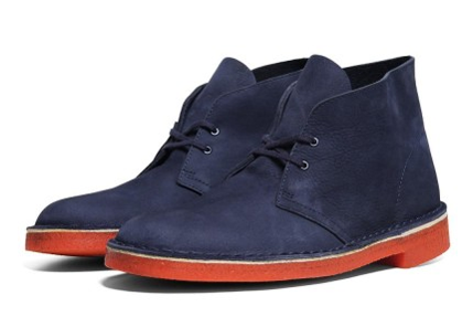 Clarks Desert Boot Blue Navy