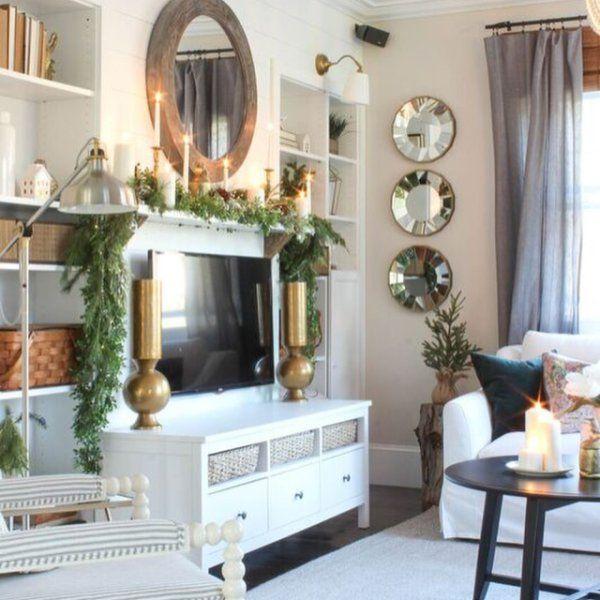 Hamptons Living Room, Christmas