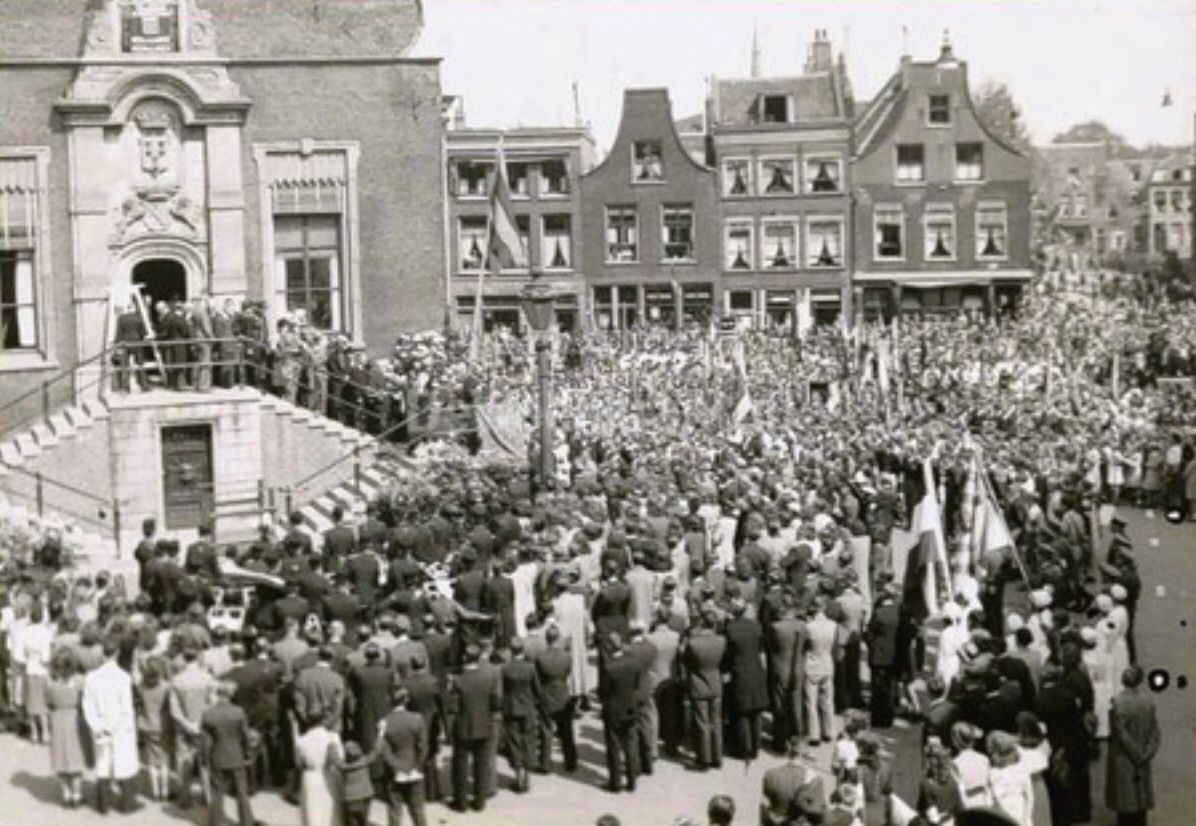 Schiedam, bevrijding 1945