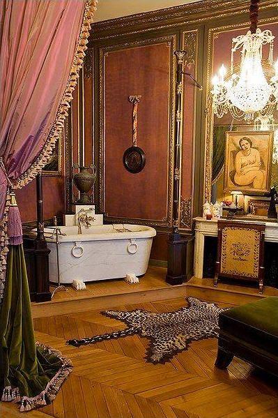 Exotic excess estate of the day belle epoque apartment in paris france - Belle epoque interiors ...