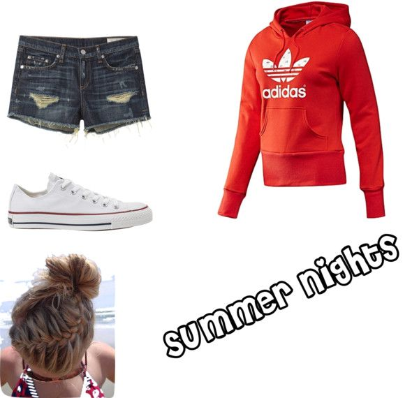 """Summer Nights(:"" by palmer-girls on Polyvore"