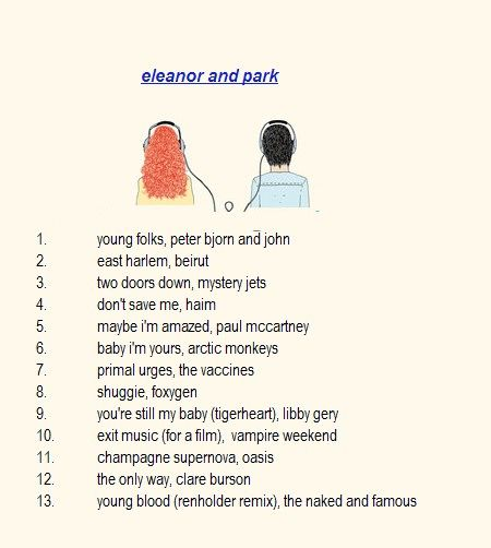 eleanor and park. <3
