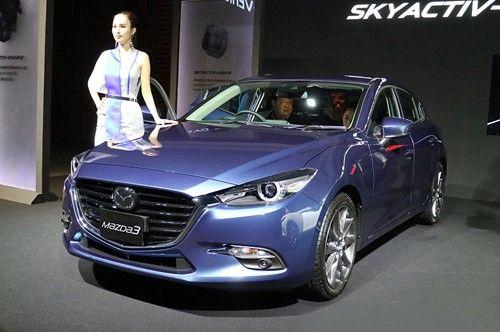 Mazda 3 2017 xuất hiện tại Thái Lan