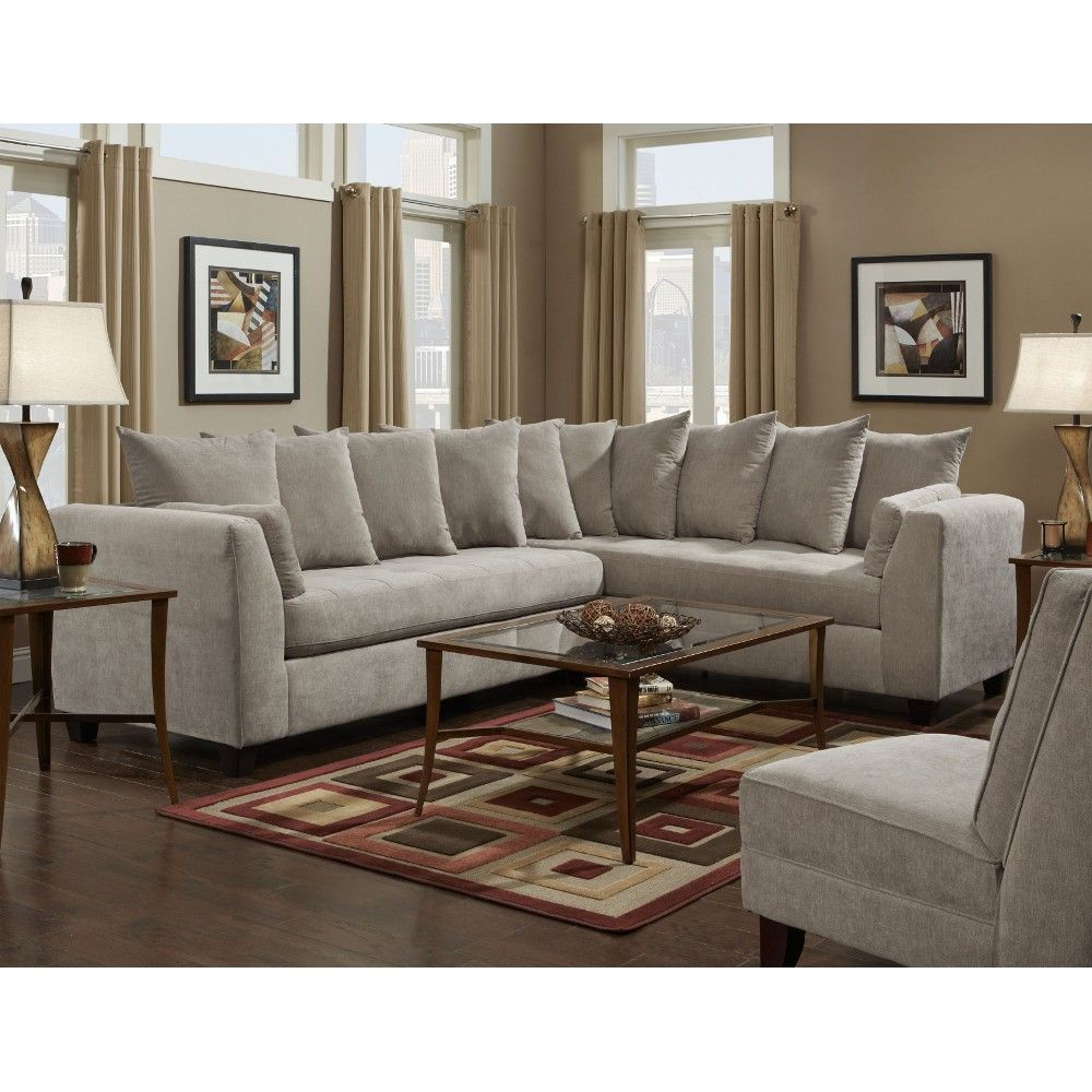 Remarkable Conns Donovan Sectional Grey 6140D9Donovansealmid Ibusinesslaw Wood Chair Design Ideas Ibusinesslaworg