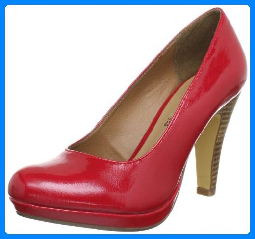 quality design aa249 ae58c s.Oliver Casual 5-5-22440-30, Damen Pumps, Rot (Chili Patent ...