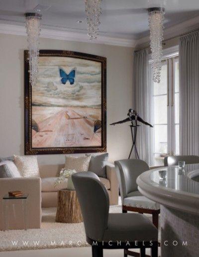 Palm Beach, FL | Marc-Michaels Interior Design, Inc. | Wohnzimmer ...