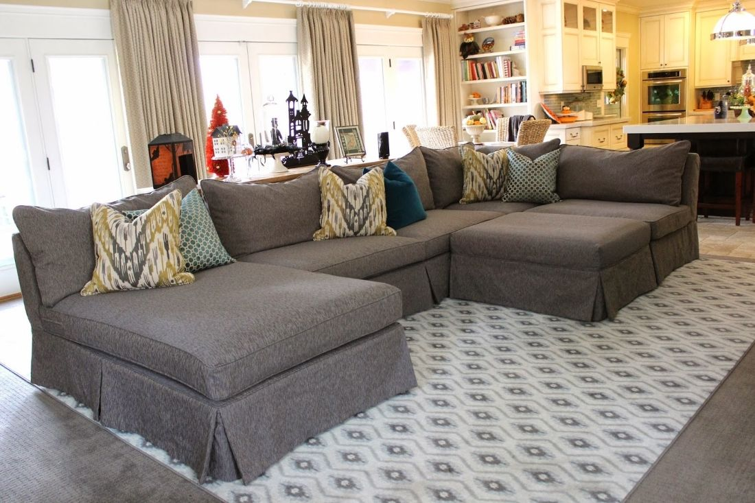 Sectional Slipcovers | Sectional sofa slipcovers, Sectional ...