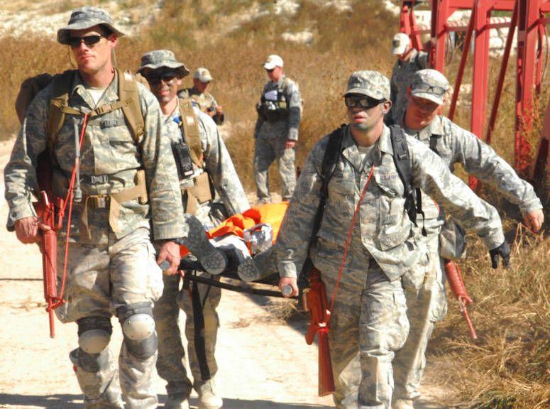 October 20 2015 Usaf Medical Group Sharpens Combat Readiness Skills Combat Medic Usaf Combat