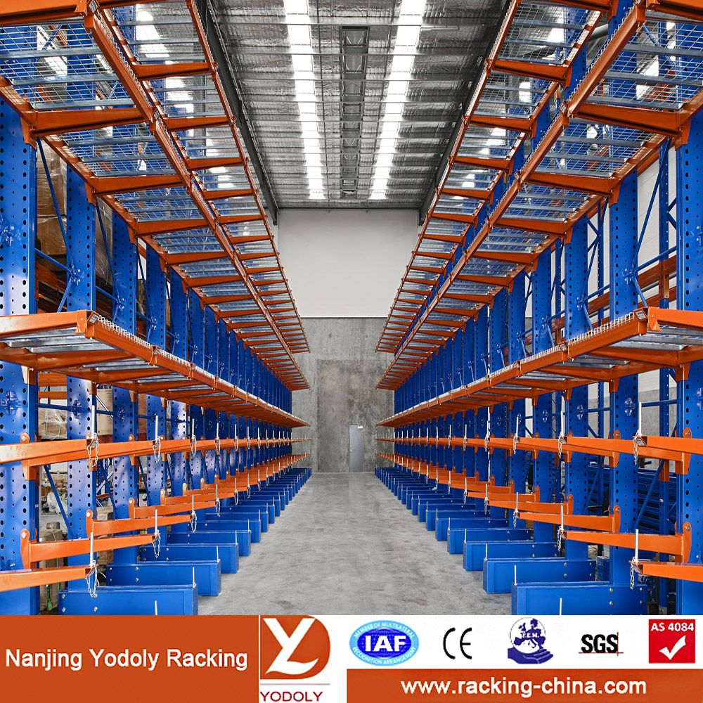 Adjustable Heavy Duty Cantilever Racking/Shelving For Long
