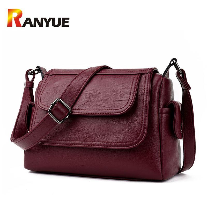 4a4e8e781e Genuine Leather Women Messenger Crossbody Bag. Leather Messenger BagsWomens  Messenger BagLeather BagsLeather HandbagsLeather CrossbodyDesigner ...