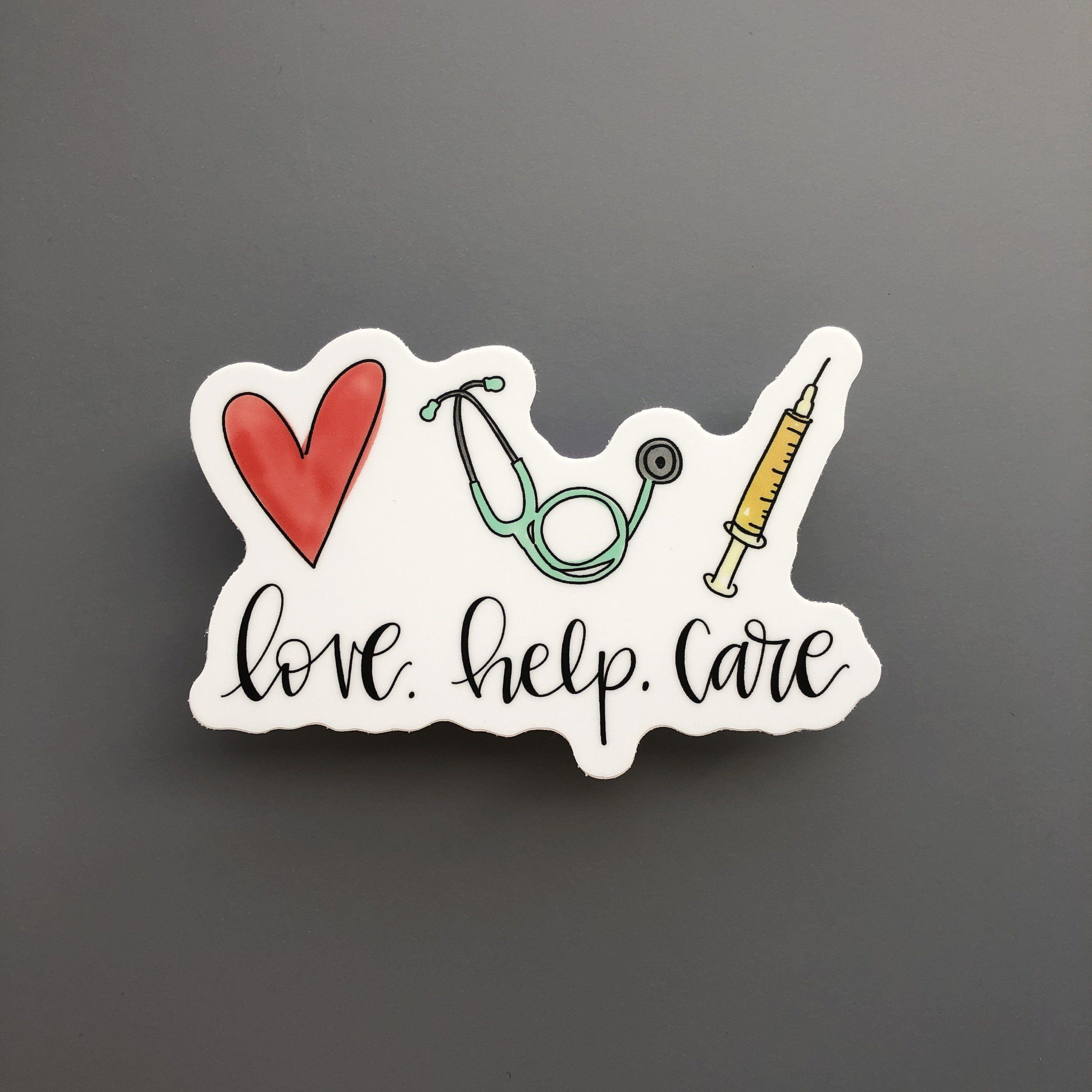 Floral Sticker Stethoscope Laptop Sticker LPN Sticker Floral Stethoscope Sticker Nurse Gift Nurse Sticker RN Sticker Nursing Sticker