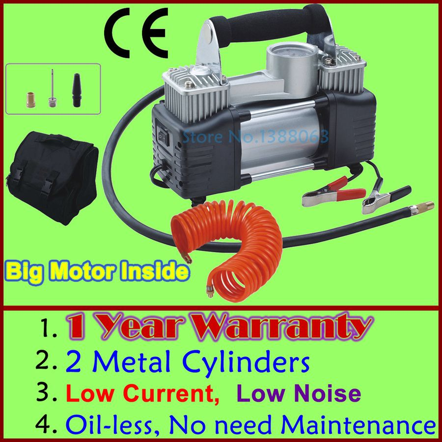Wholesale Low Noise 12v Air Compressor Car Tyre Inflator