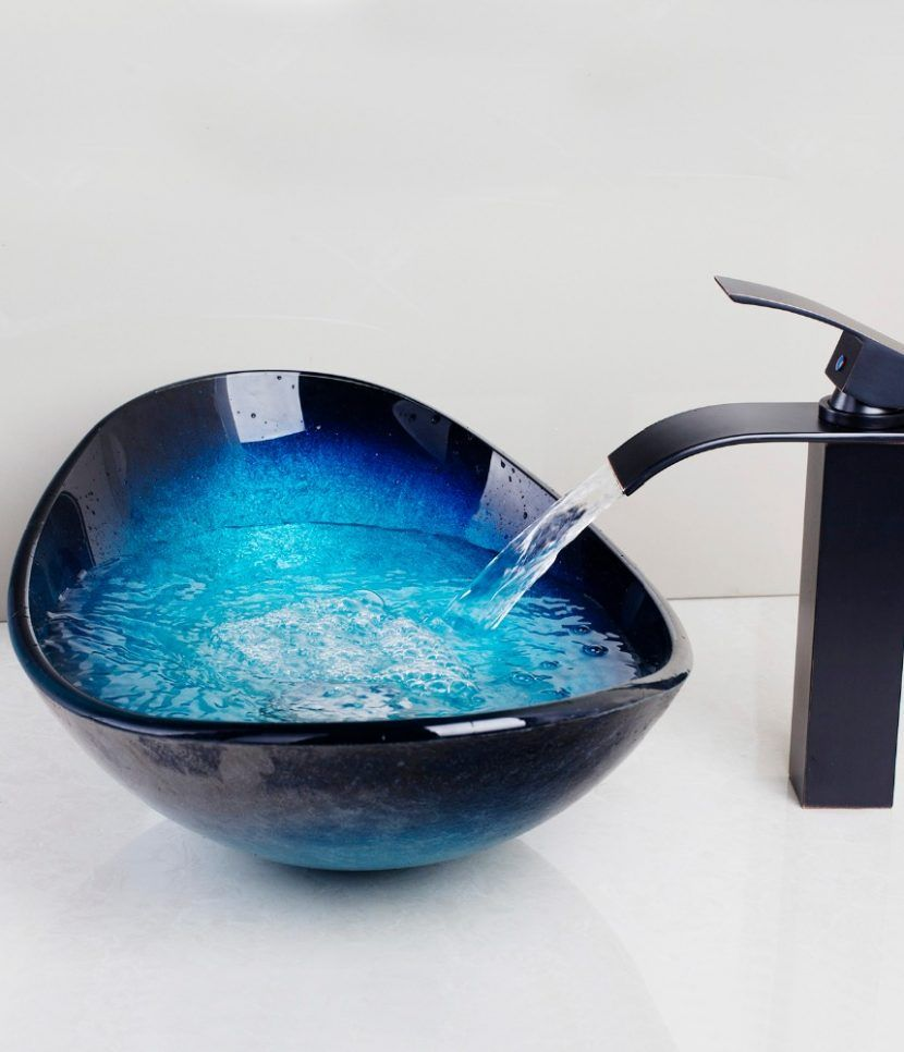 Waterfall Bathroom Sink Faucet Save The Tax And Get Free Shipping Sink Faucets Glass Bathroom Sink Bathroom Sink