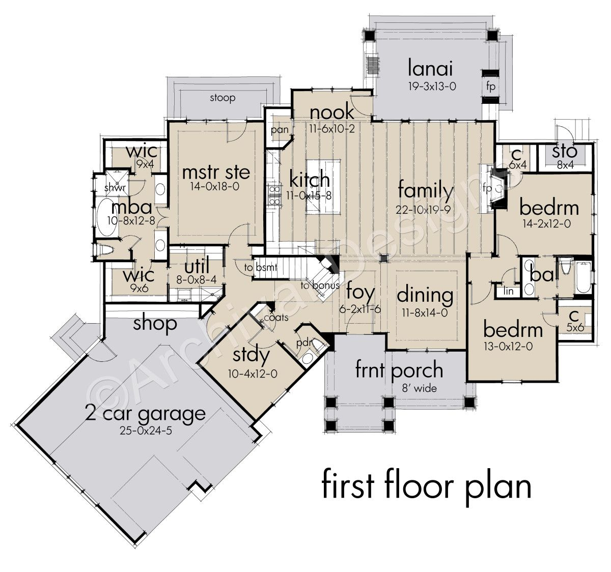Crystal Falls House Plans In 2020 With Images Farmhouse Style House Plans Floor Plans How To Plan