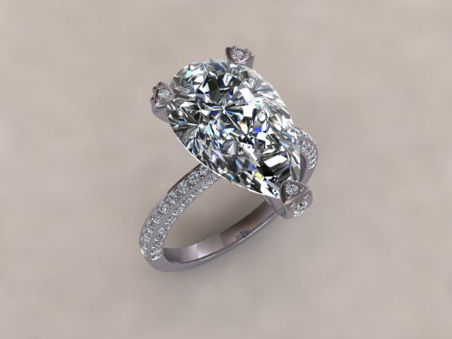 Holly Valance Replica Engagement Ring Www Diamondgeezer
