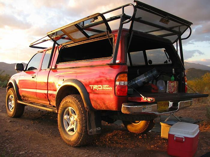over c&er shell ladder rack tacoma - Google Search & over camper shell ladder rack tacoma - Google Search | Steel and ...
