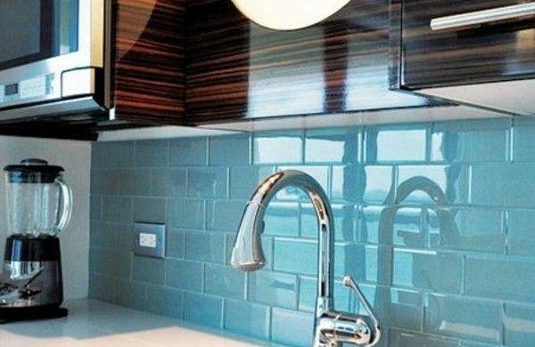 küche fliesenspiegel wandspiegel küche spritzschutz - fliesenspiegel küche selber machen