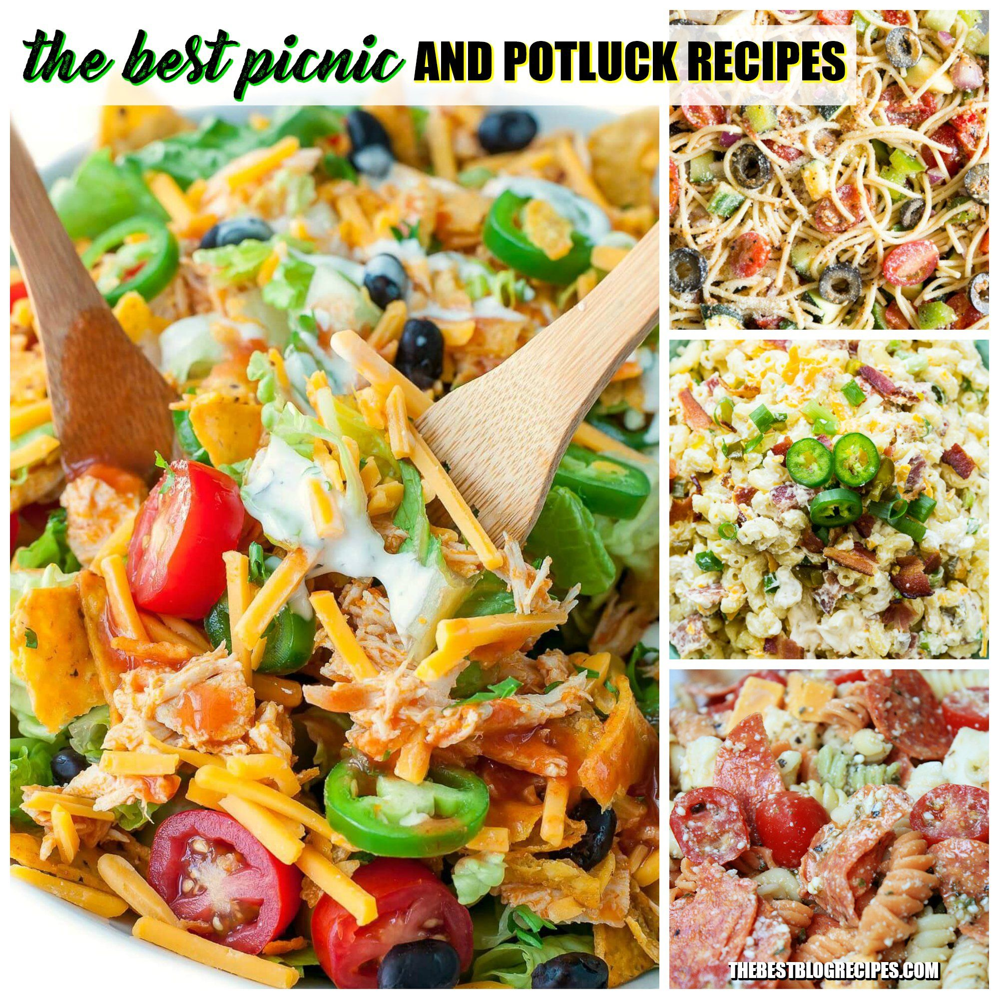 The Best Picnic And Potluck Recipes Are Made Using Quick