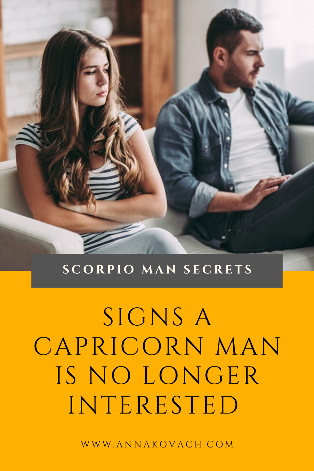 Signs Capricorn Man Isnt Interested Anymore in 2020