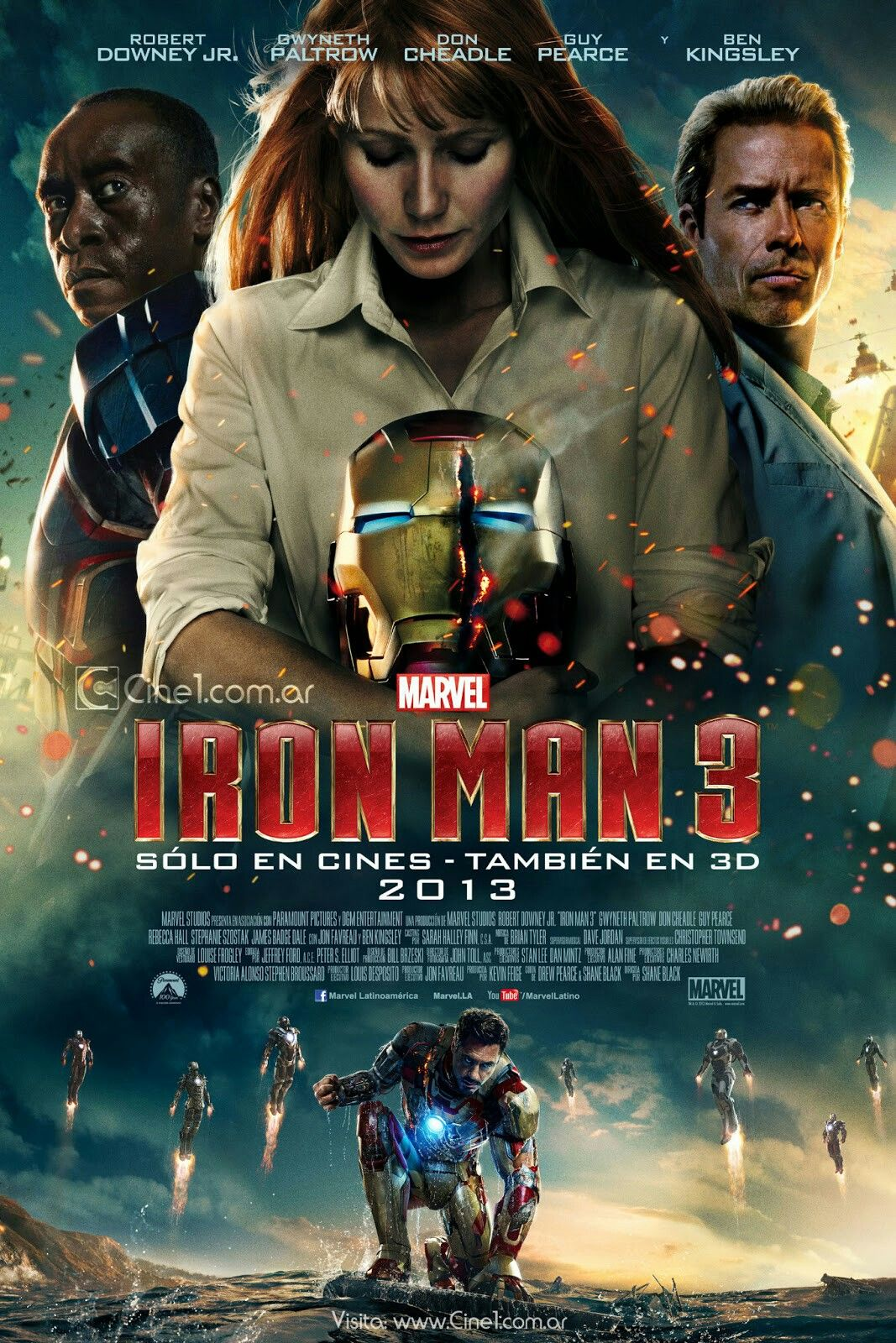 Pin by Nelson Alvarez on POSTER MARVEL AND DC MOVIES | Peliculas marvel, Iron man 3, Peliculas ...