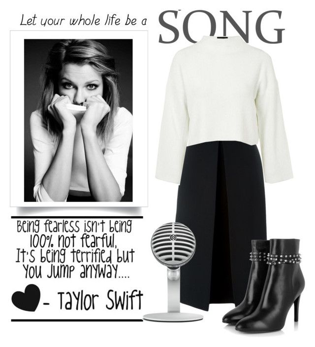 """Let Your Whole Life Be A Song... Taylor Swift"" by conch-lady ❤ liked on Polyvore featuring McQ by Alexander McQueen, Topshop and Yves Saint Laurent"