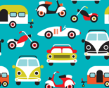 Vintage colorful traffic by littlesmilemakers