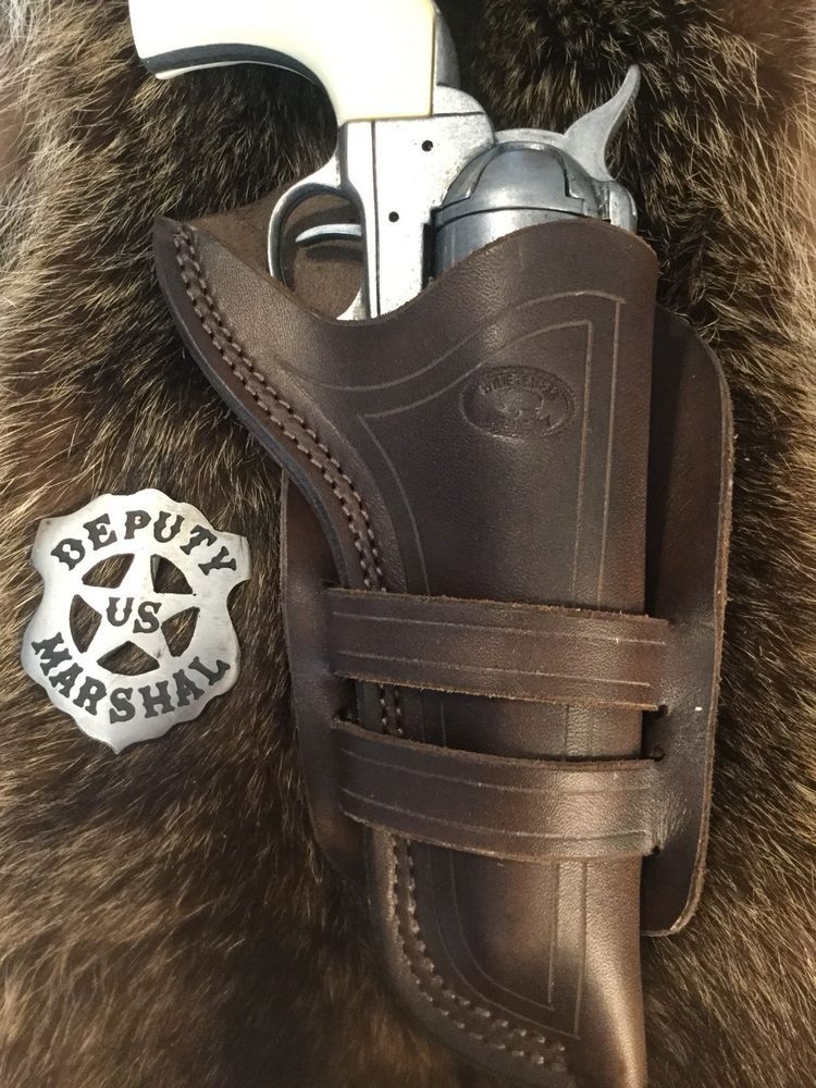 Details about Single Action Revolver Holster, Wyoming Made