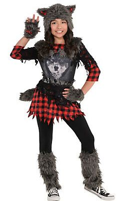 test-with-girl-teen-halloween-costume-wolf-girls-durning