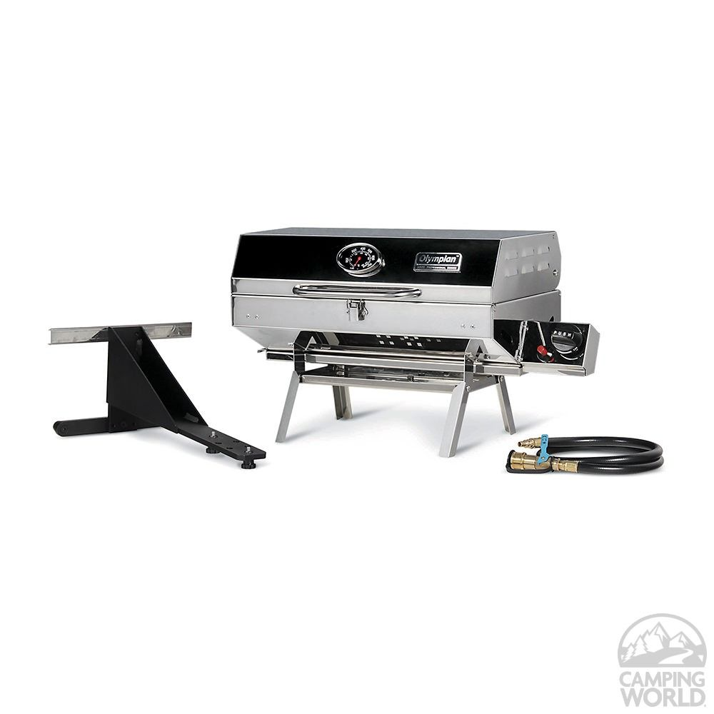 Camco 5500 Stainless Steel Rv And Outdoor Grill In 2020 Portable Grill Best Portable Grill Gas Grill