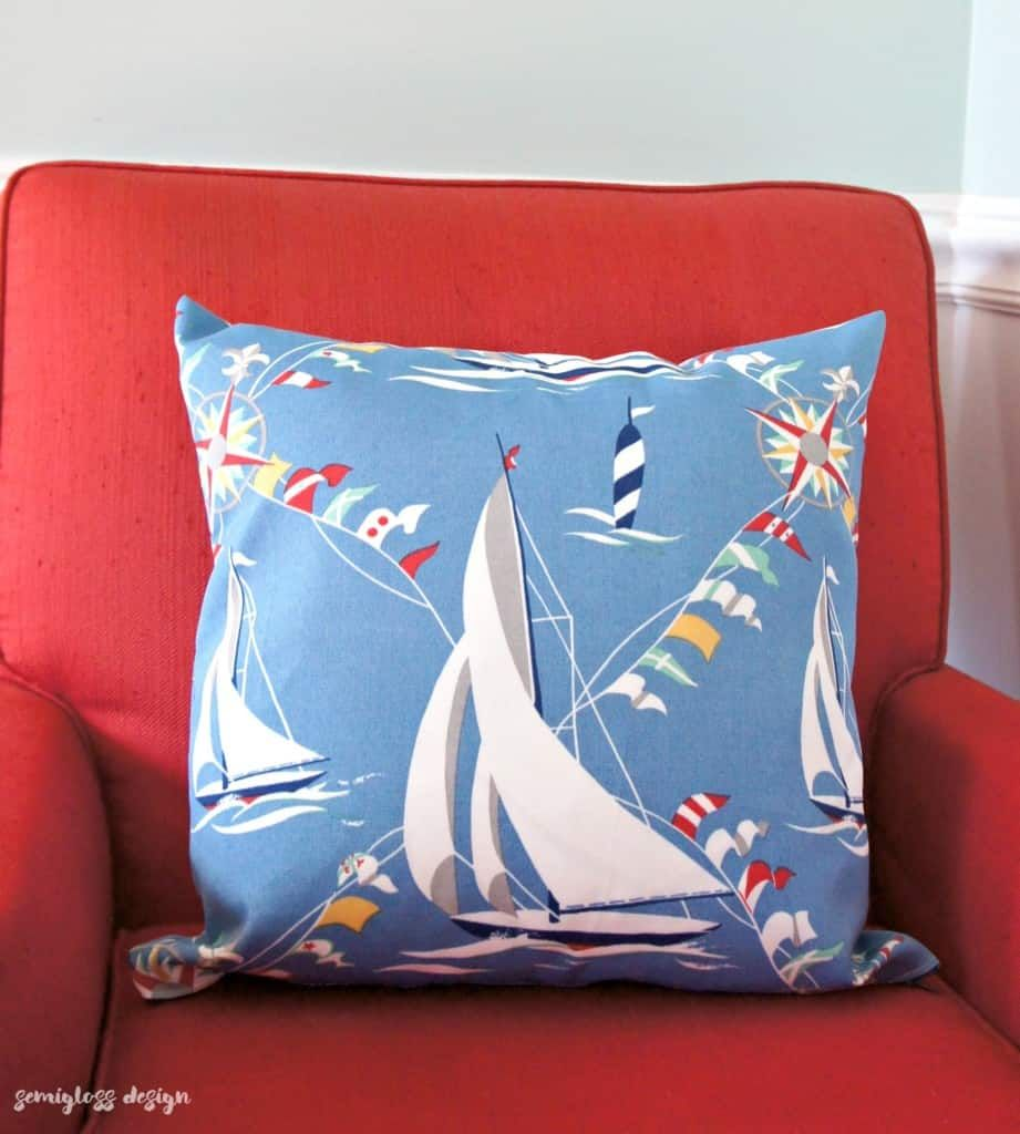 How to Sew a Zipper in a Pillow The Easy Way Pillows