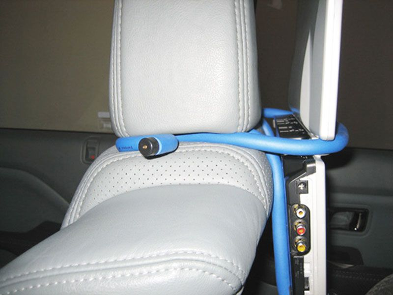 diy portable car seat dvd player hack