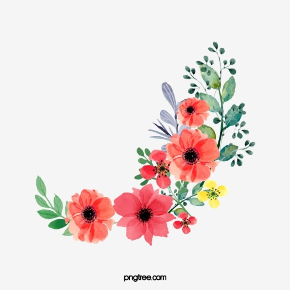 Watercolor Flowers Watercolor Clipart Cartoon Pink Png Transparent Clipart Image And Psd File For Free Download Watercolor Flowers Pink Watercolor Flower Watercolor Clipart
