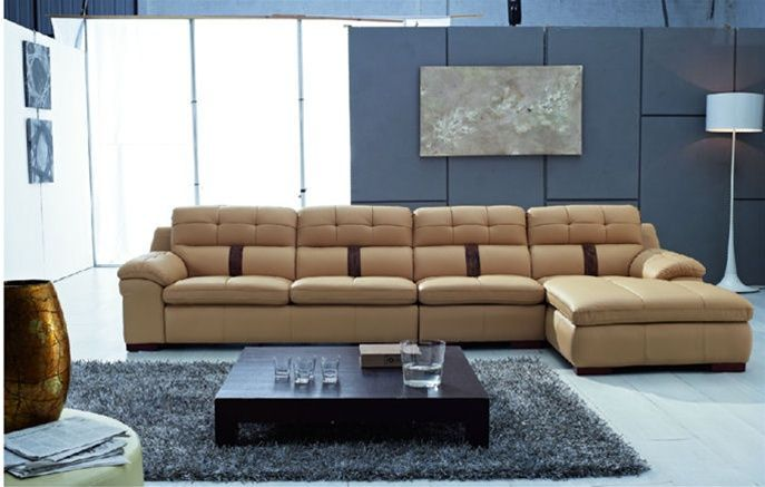 There Is No Question That Genuine Leather Is The Most Durable And Long Lasting Furni Corner Sectional Sofa Modern Leather Sectional Sofas Modern Sofa Sectional