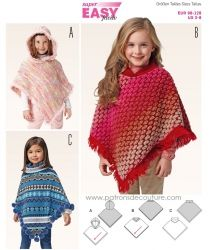 Modèles tricot et crochet enfant : écharpe, gilet, cape