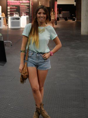 matchaheart Outfit Verano 2012. Combinar Camiseta Azul cielo Sfera ... 0770207ac12