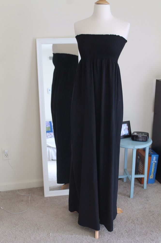 Old Navy Black Maxi Dress size Small #OldNavy #Maxi #Clubwear
