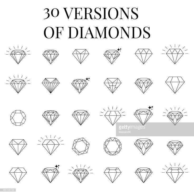 Diamant Noir Tattoo Ideen Walltattoo Tatowierungen