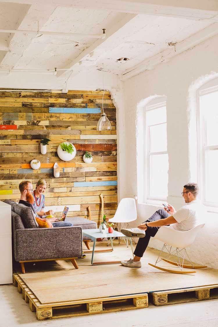 revestir pared con madera