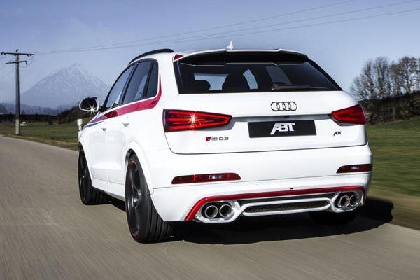 ABT Sportsline sattaque à lAudi RS Q3  Audi RSQ3  Audi rs, Audi et Audi q3
