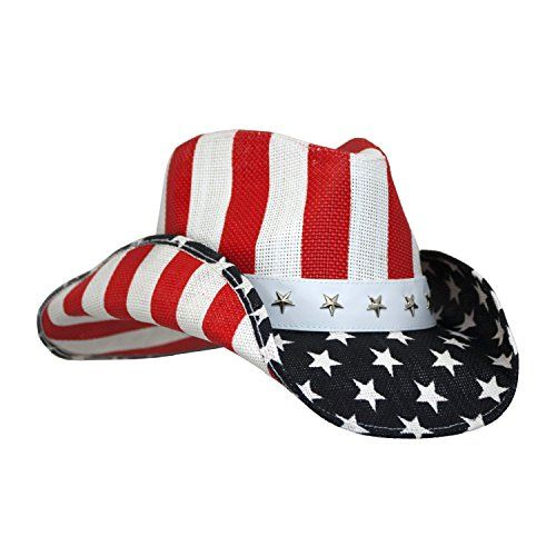 Robot Check Cowboy Hats Hats For Men Patriotic Outfit