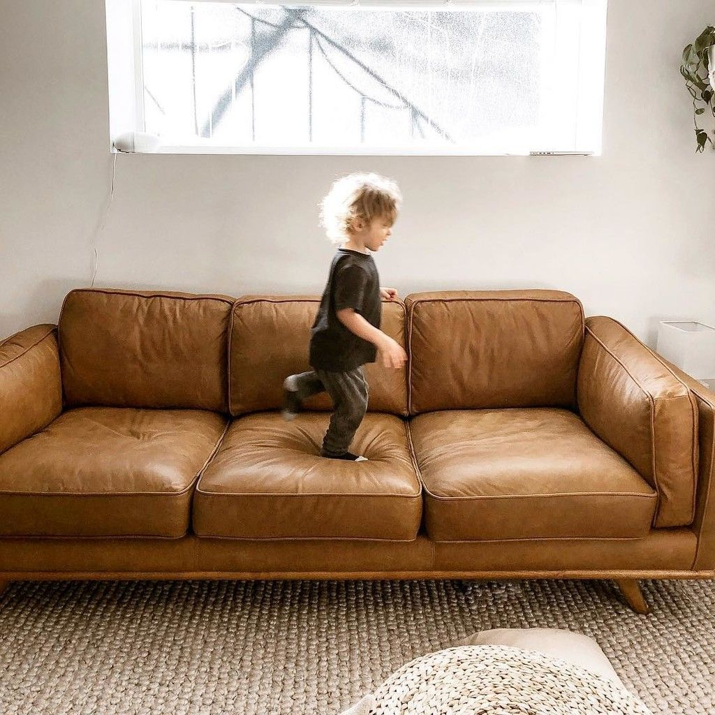 Timber Charme Tan Sofa Article Leather Couches Living Room Tan Sofa Leather Sofa Living Room