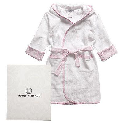Designer Baby Young Versace Bath Robe Designer Baby Boy Clothes Designer Kids Clothes Baby Outfits Newborn