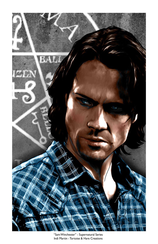 Sam Winchester - Supernatural Series #2 by indigowarrior.deviantart.com on @DeviantArt
